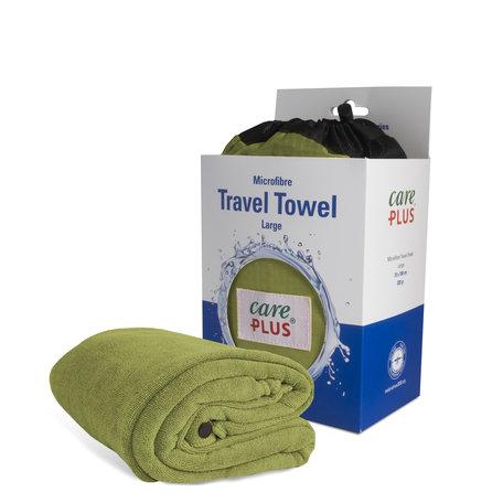 Care Plus Travel Towel Microfibre Large - Groen